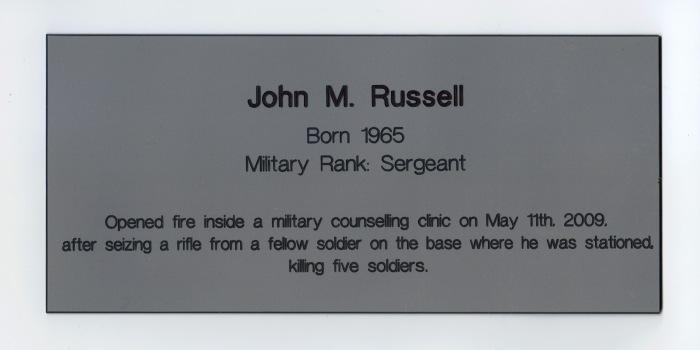 John M Russell