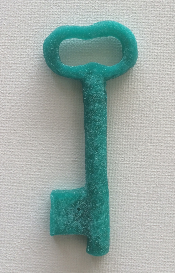 Pacifier blue key